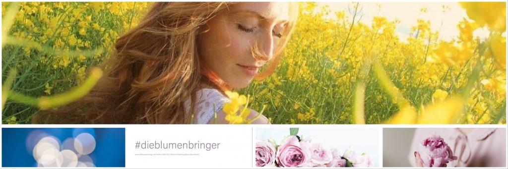 Banner die Blumenbringer.de
